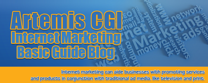 Artemis CGI Internet Marketing Basic Guide Blog